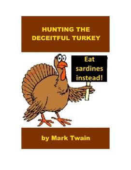 Hunting the Deceitful Turkey by Mark Twain