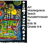 "Huntswasser Art Lesson ""Guest of Nature"" K-6 History Biography ELA Common Core"