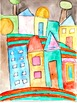 """Huntswasser Lesson """"Snail Houses"""" Grades K-6 Teach Art with the Masters"""