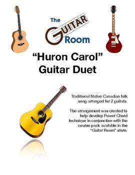 Huron Carol - Guitar Duet