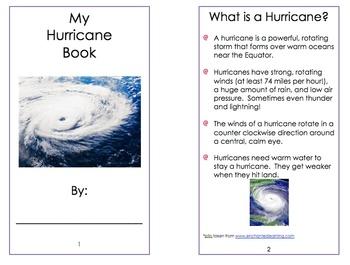 Hurricane Booklet