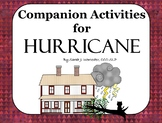 Hurricane - Companion Activities for Speech & Language