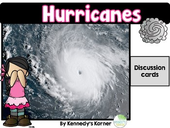 Hurricane Discussion Cards and Printables