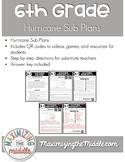Hurricane Emergency Sub Plans