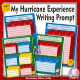 FREEBIE! Hurricane Florence Experience - LEGO Like Writing Prompt