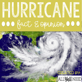 Hurricane: Fact and Opinion