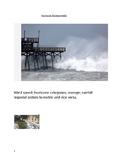 Hurricane Florence Math