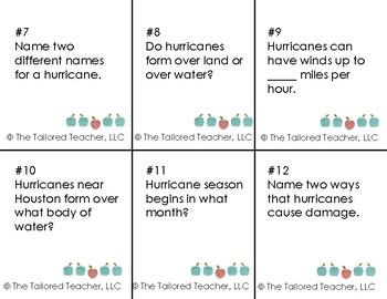 Hurricane Harvey Board Game