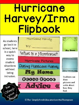 Hurricane Harvey/Hurricane Irma Booklet