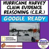 Hurricane Harvey Claim Evidence Reasoning Graphic Organizer (NatGeo Article)