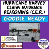 Distance Learning Hurricane Harvey Claim Evidence Reasonin