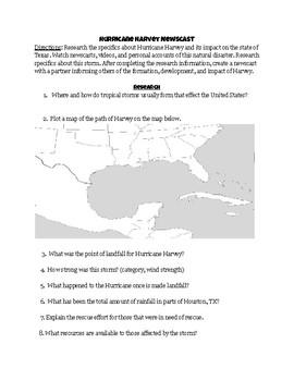 Hurricane Harvey Newscast