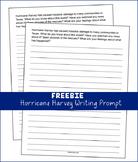 Hurricane Harvey - Writing Prompt (FREEBIE)