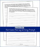 Hurricane Harvey - Writing Prompt (FREEBIE)