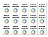 Hurricane Hero Brag Tags/ Hurricane Harvey Brag Tags