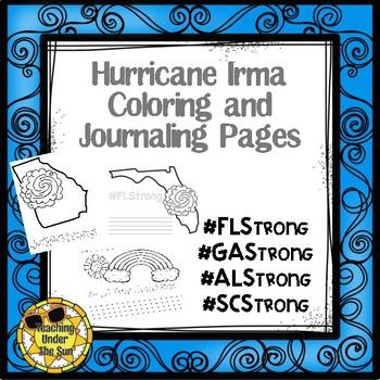Hurricane Irma Florida Strong Color Journal