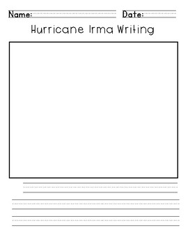 Hurricane Irma Primary Writing