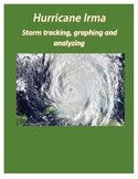 Hurricane Irma:  Storm tracking, graphing and analyzing
