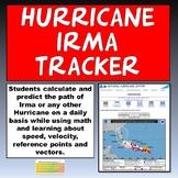 Hurricane Irma Tracker and PowerPoint