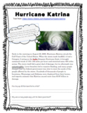 Hurricane Katrina: Informational Article and Questions