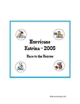 Hurricane Katrina: Race to the Rescue File Folder Game