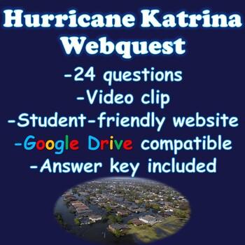 Hurricane Katrina Webquest