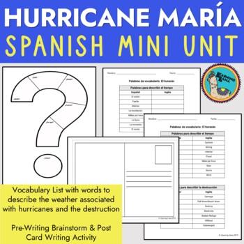 Hurricane Maria Puerto Rico Spanish Lesson