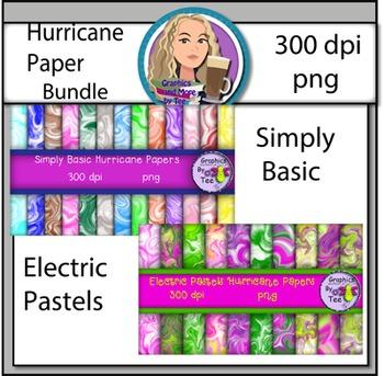 Hurricane Paper Bundle