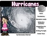 Hurricane Power Point - Discussion Cards - Printables