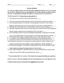 Hurricane Preparedness Worksheet