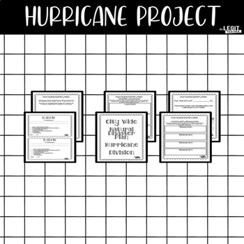 Hurricane Project {Rubric Included}