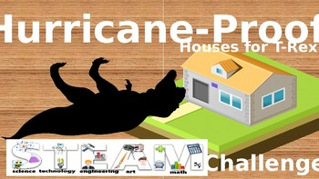 Hurricane-Proof Houses for T-Rex STEAM Challenge PowerPoint