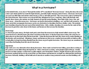 Hurricane Proof Structure STEM Project, Engineering Activity: NGSS 4-ESS3-2