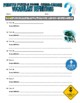 Hurricane Puzzle Page (Wordsearch & Criss-Cross)