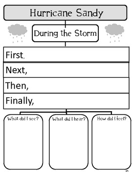 Hurricane Sandy Writing Project