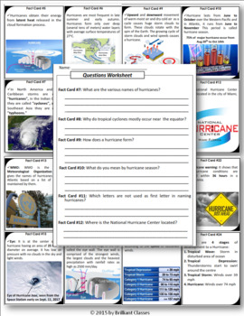 Hurricane Scavenger Hunt Activity