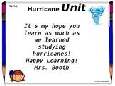 Hurricane Science Unit