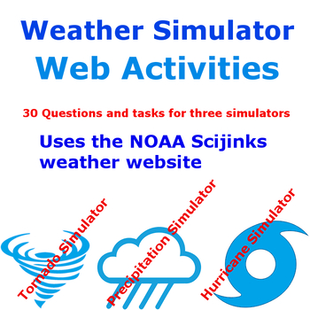 Hurricane Tornado Precipitation Simulator Web Activity