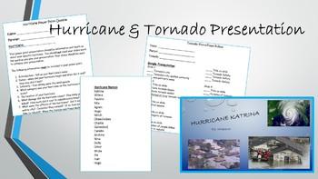 Hurricane & Tornado Presentation