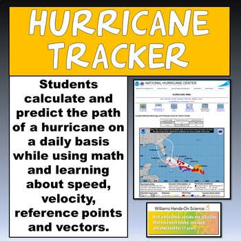 Hurricane Tracker Template & PowerPoint