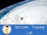 Hurricane (Latitude and Longitude) Lab Project
