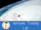 Hurricane (Latitude and Longitude) Lab Project