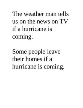 Hurricane True/False