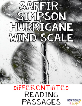 Hurricane Wind Scale: Saffir Simpson Differentiated Nonfiction Reading Passages