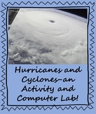 Hurricane and Cyclone Activity!  Includes Computer Lab!