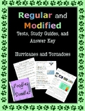 Hurricane and Tornado Regular and MODIFIED Assessments