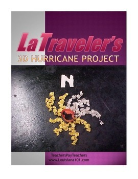 LOUISIANA - Hurricanes 3-D models