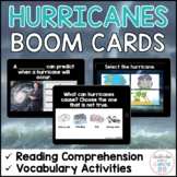 Hurricanes BOOM CARDS™ for Distance Learning