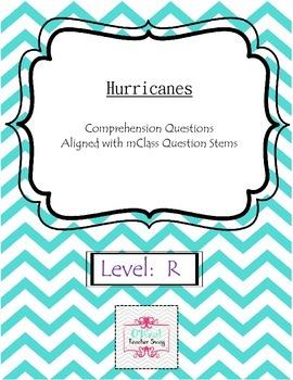 Hurricanes-Comprehension Questions