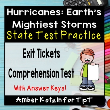 Hurricanes: Earth's Mightiest Storms State Test Prep - 4th Grade Journeys